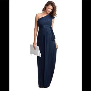 Isabella Oliver Maternity Belmont maxi dress Navy